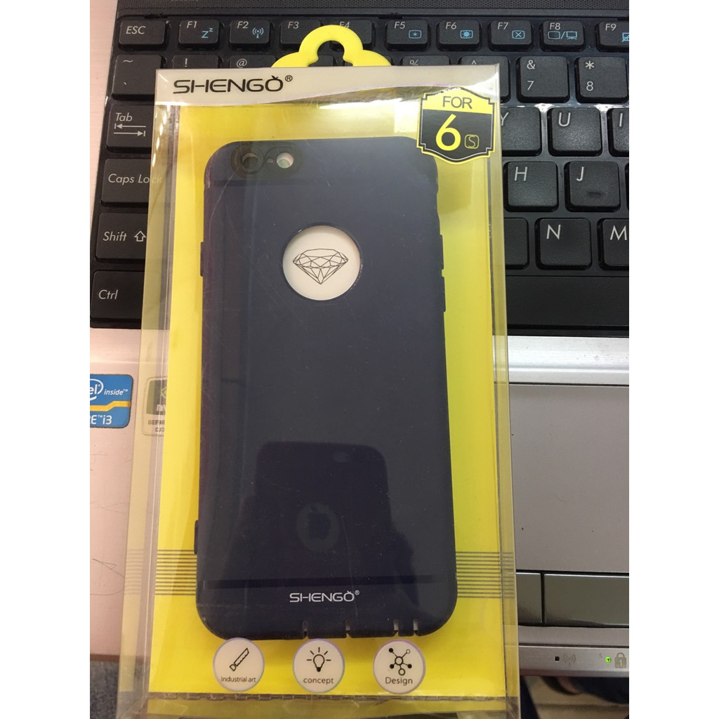 Ốp SHENGO IP6 Plus/6S Plus nhựa mềm có bảo vệ camera đủ màu hàng chất lượng