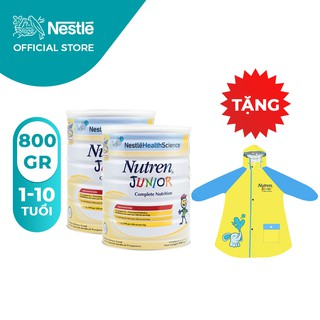 Bộ 2 Lon Sữa Bột Nestle Nutren Junior 800g/Lon