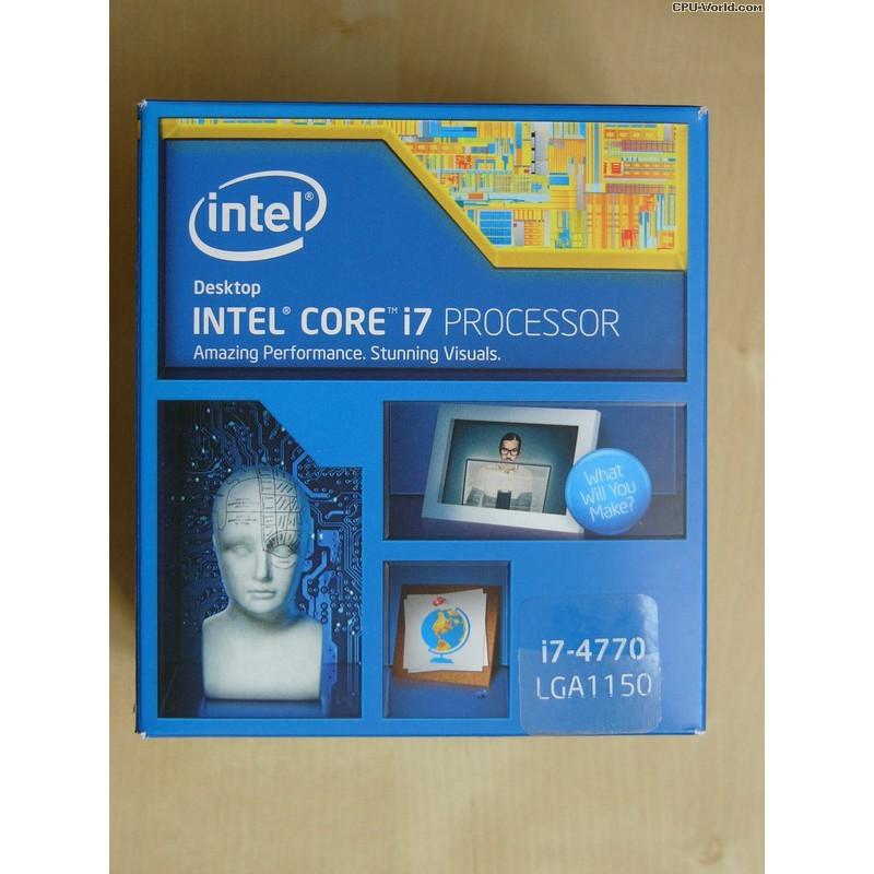 Intel Core i7-4770 Quad-Core (3 4 GHZ, SK 1150, 8MB)