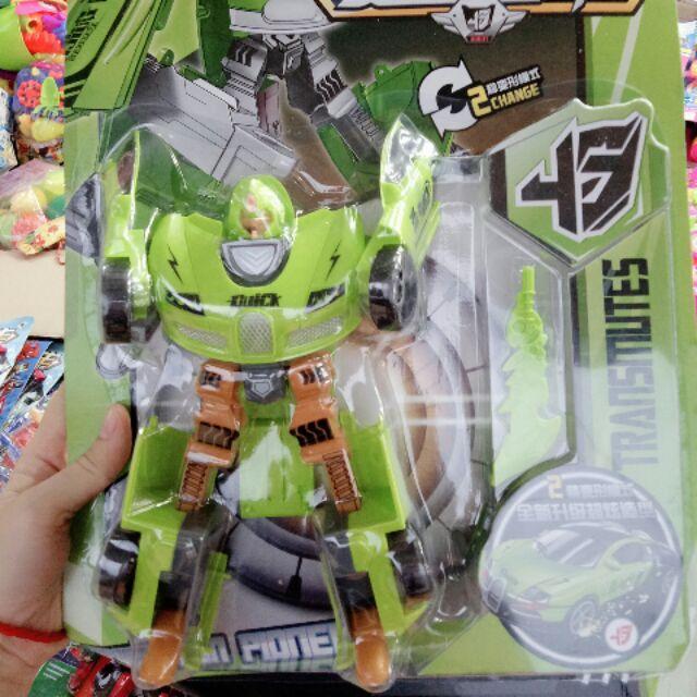 Moto xếp thành robot