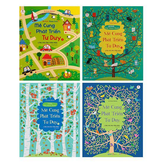 Sách - Bộ Sách Mê Cung Phát Triển Tư Duy ( bộ 4 cuốn)