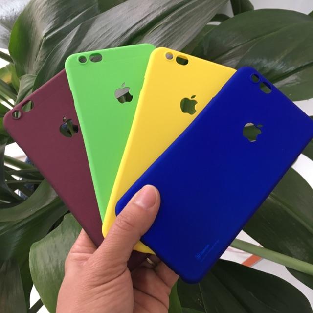 [XẢ HÀNG] Ốp lưng baseus màu Iphone 5,5S,6,6S,6Plus,6SPlus,7Plus, 8, 8Plus