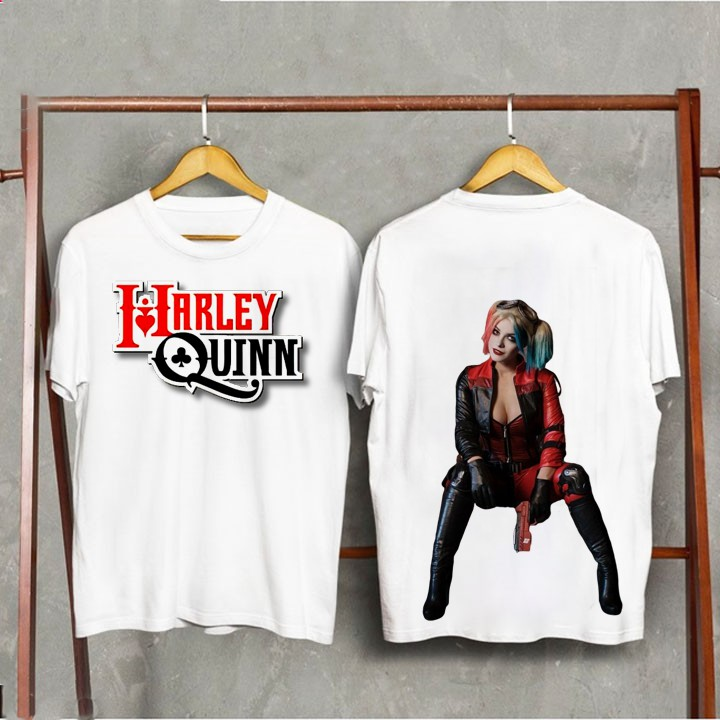 Áo thun unisex form rộng #Harley dễ thương vải dày mịn
