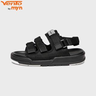 Giày Sandal Vento Unisex HS1001 F7 Đen trắng
