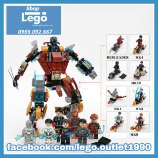 Xếp hình Iron Man Lego Minifigures Sy1182 (No Box) thumbnail
