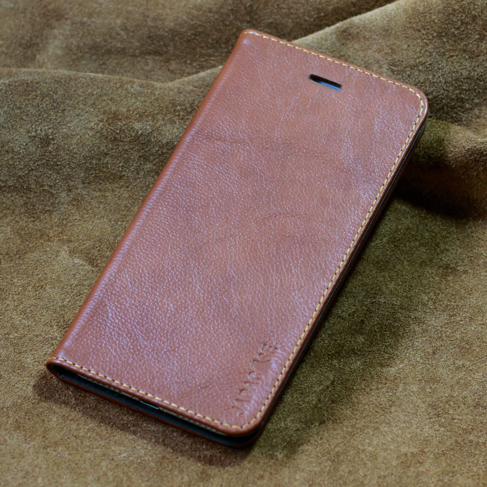 Bao da Samsung Bao da iPhone 6/7/8 – Gập ngang – da bò thật!