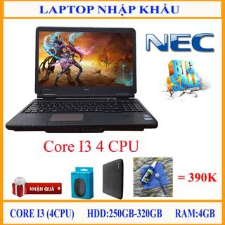 Máy tính xách tay nhập khẩu Core I3 (4cpu), nguyên zin, tốc độ cực nhanh.