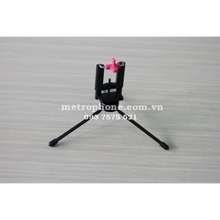 Tripod Mini Chất Liệu Kim Loại Cứng Cáp Cho Điện Thoại ( không có bao gồm khung kẹp điện thoại )