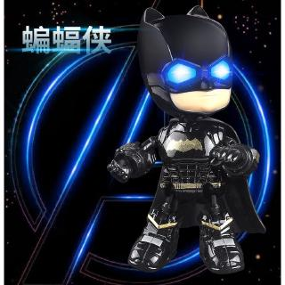 【Ready Stock】The Avengers Alloy Robot Toy Batman Spider-Man With Sound and Led Light