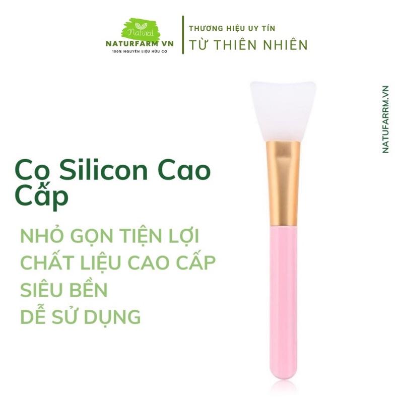 Cọ quét mặt nạ ( cọ quét nạ, trang điểm, đắp mặt nạ ) cọ silicon cao cấp