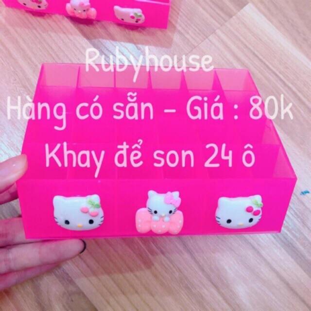 Khay Son Hello Kitty