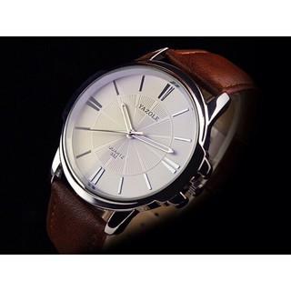 Đồng hồ nam Yazole YZL332 dây da mềm style Doanh nhân tối giản + Tặng hộp đồng hồ sang trọng (Đỏ hoặc đen) thumbnail