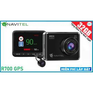 [HỖ TRỢ LẮP ĐẶT] CAMERA HÀNH TRÌNH NAVITEL R700 GPS DUAL + TẶNG KÈM THẺ NHỚ 64GB