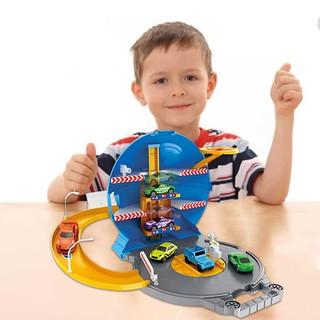 Children's Puzzle Planet Simulation Rail Car Toy Set