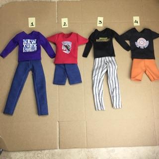 K1- Quần áo búp bê ken búp bê thời trang nam 1 6 thumbnail