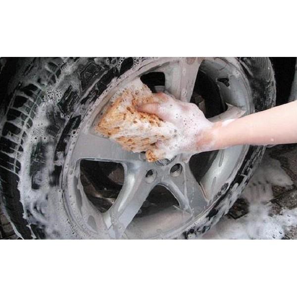 Mút đánh bóng hoặc cọ rửa xe