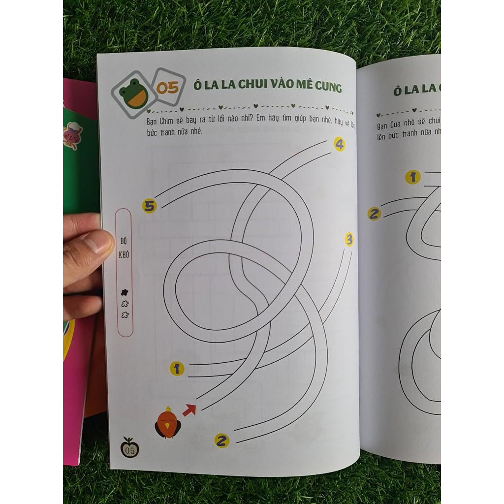 Combo Sách Rèn Luyện Khả Năng Tập Trung Cho Trẻ (3-6 Tuổi) (Gồm 6 Cuốn)