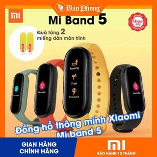 Đồng Hồ Xiaomi Mi Band 5 & Miband 4- BH 1 năm – Hàng Chính Hãng