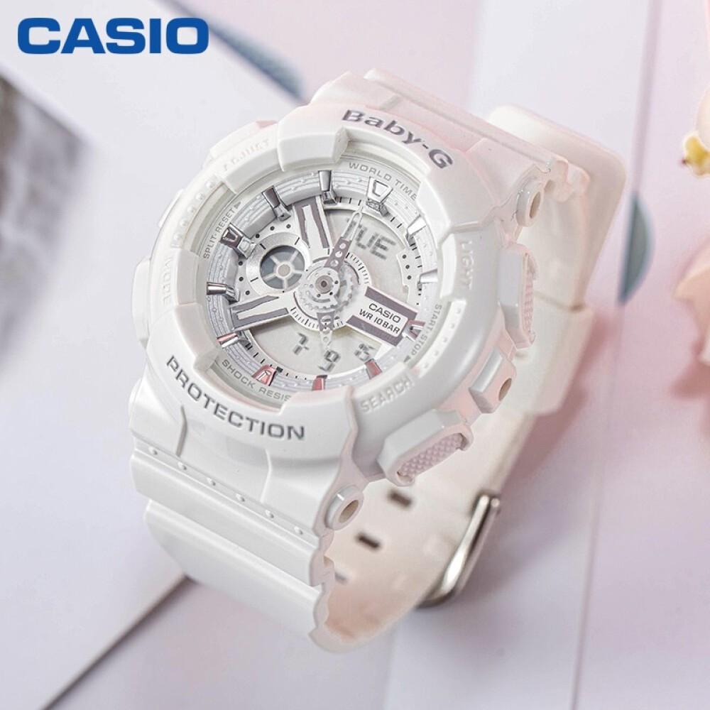 Đồng hồ nữ dây nhựa Casio Baby-G chính hãng Anh Khuê BA-110-7A3DR