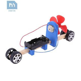 Jae*☀Speed Change Racing Car Kid DIY Assembled Toy Aerodynamic Car Material Tool✠