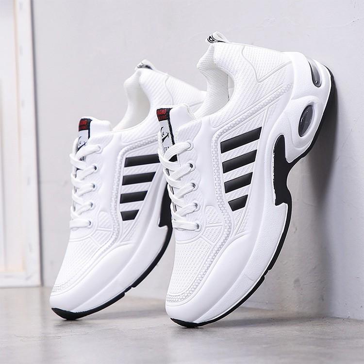 Giày Sneaker Thể Thao Nam G10 Màu Trắng Cực Hot