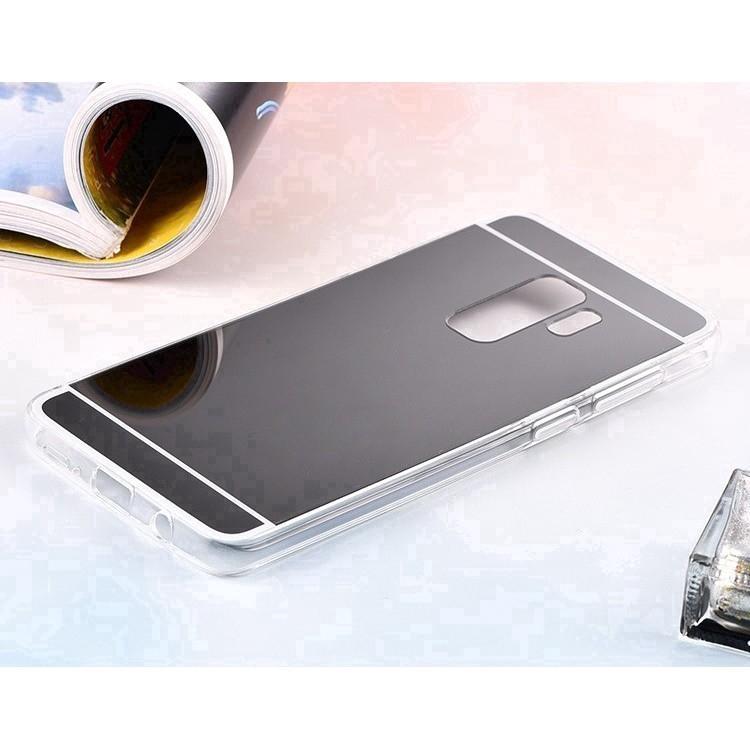 Ốp điện thoại nhựa TPU mềm tráng gương cho Samsung A6 2018