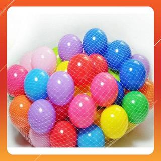 [HGR] Túi 70 bóng nhựa Size 7,5 cm nhiều màu sắc
