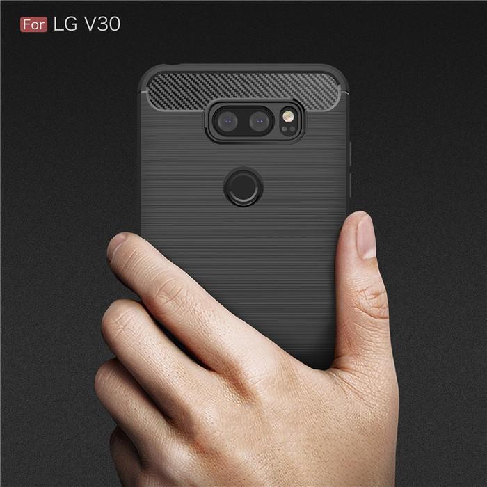 Ốp lưng silicone chống sốc cho LG V30