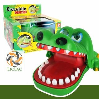 Đồ Chơi Khám Răng Cá Sấu ( SIZE LỚN ) – LICLAC mã sản phẩm LG174