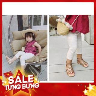 Quần legging lửng bé gái – Hàng nhập khẩu