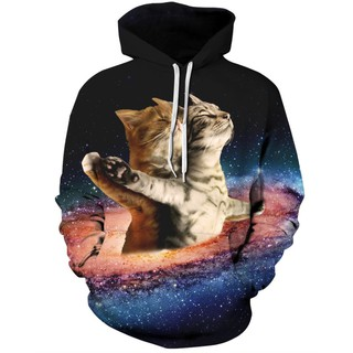 Áo Khoác Hoodie Mèo TITANIC 3D