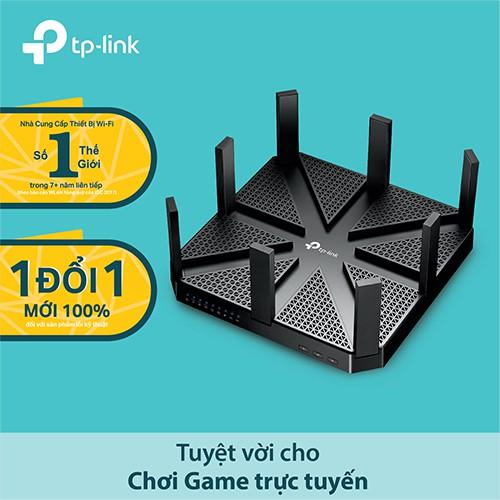 TP-Link Archer C5400 Bộ Phát Wifi Gigabit Công Nghệ MU-MIMO 3 Băng Tần AC5400 - Hãng Phân Phối Chính
