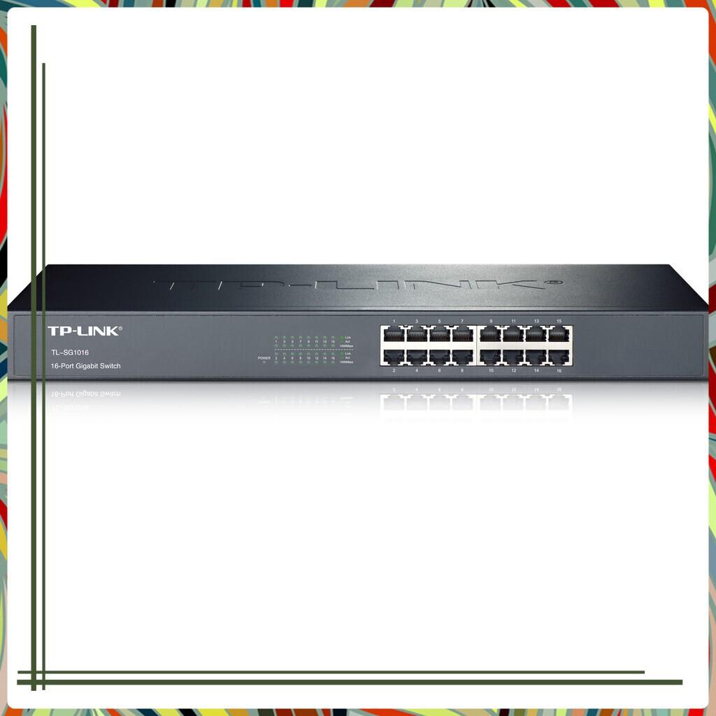 (Siêu tốt ) Switch TP-Link TL-SG1016D 16 cổng gigabit Giá chỉ 1.922.700₫