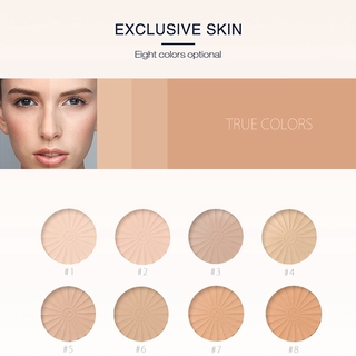 Dry Wet Use Lasting Whitening Smooth Concealer Foundation Pressed Powder