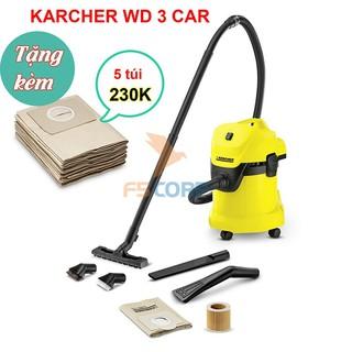 Máy hút bụi – nước và thổi Karcher WD 3 CAR *EU-I (1.629-809.0)