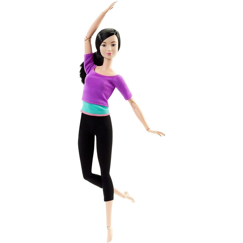 Búp bê Barbie made to move yoga (Áo tím), giá chỉ 400,000đ! Mua ngay kẻo  hết!