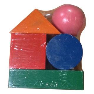 Đồ chơi gỗ Bộ Khối Dùng Cho Cô 5 Khối Lớn