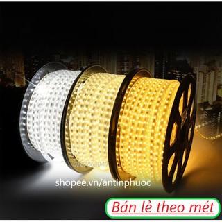 Đèn led dây đôi 220v trang trí , ánh sáng nền – Dây led đôi 2835 hắc trần màu trắng ,vàng siêu sáng quấn cây , ốp tường