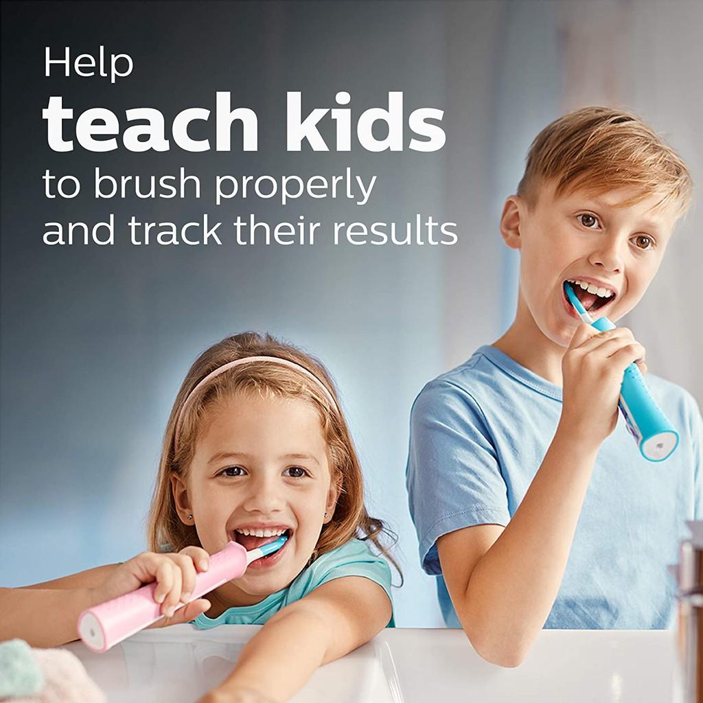 Bàn chải điện trẻ em Philips Sonicare for Kids Rechargeable Electric Toothbrush [Hàng Mỹ]