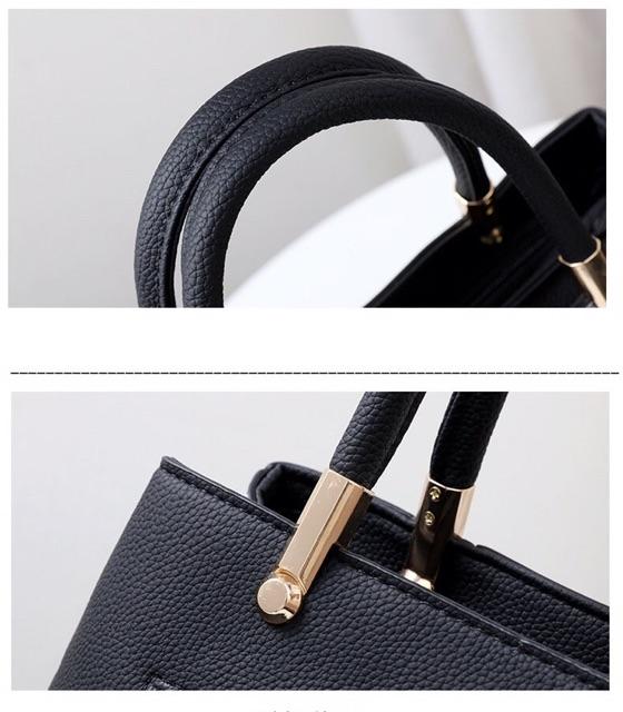 Túi xách nữ công sở da sần nhiều ngăn  - TX12