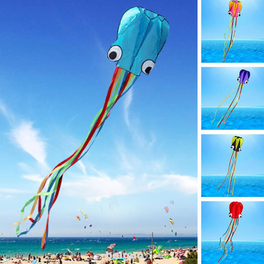 Toy Gift Kids Foldable Beach Portable Inflatable Park No Skeleton Kite