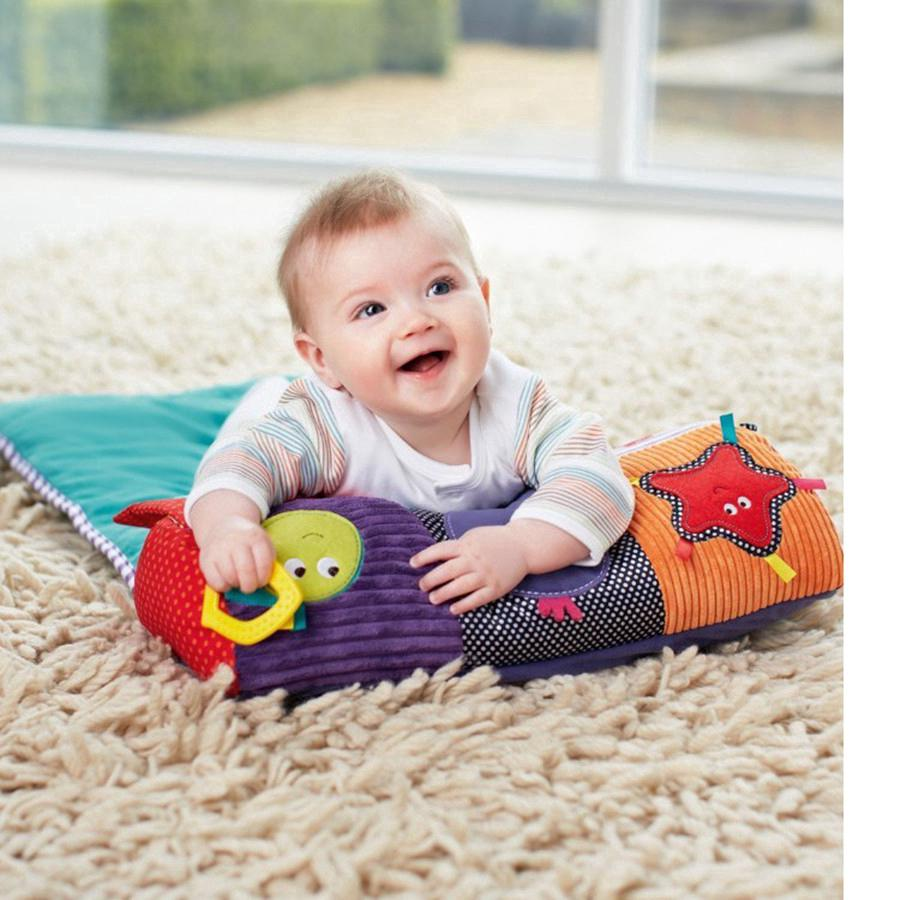Baby Multifunctional Roller Pillow infant Blanket Crawl Climb Learning Toys