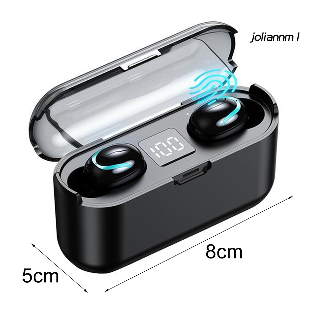 Tai Nghe Nhét Tai Bluetooth 5.0 Không Dây Mini Thông Minh Joliann S1 Điện Thoại