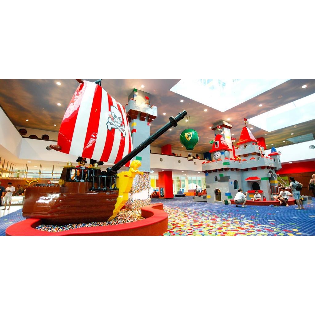 HCM [E-voucher] Vé LEGOLAND® Theme Park & Water Park 1 ngày