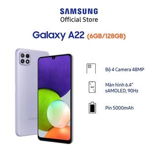 Hình ảnh [Mã ELSAMHOT giảm 5% đơn 3TR] Điện thoại Samsung Galaxy A22 (6GB/128GB)-8