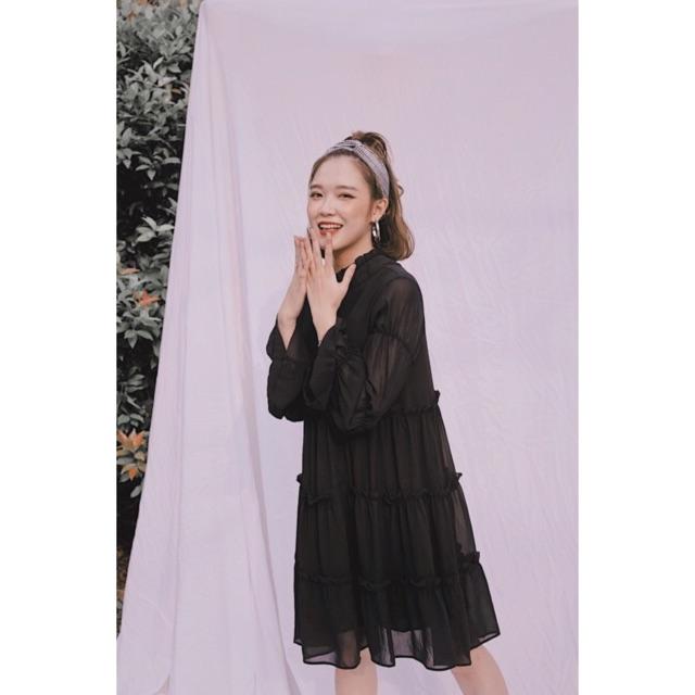 Váy - B655 : 360 ( đen, trắng)