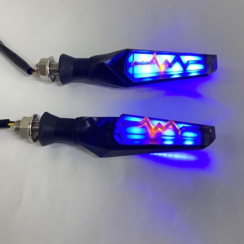 [Giá 1 đôi] Đèn Led xinhan chạy tia sét gắn thông dụng các dòng xe