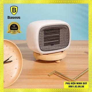 [Mã ELMAR10K giảm 10K đơn 20K] Máy sưởi mini Baseus Warm Little White Fan Heater