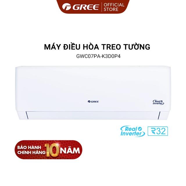 Miễn phí lắp đặt - Điều hòa Gree Pular 0.7HP GWC07PA-K3D0P4