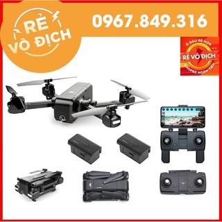 [GIÁ HỦY DIỆT] [ Combo 2 Pin] Máy bay Flycam SJRC Z5 Camera xoay 90 độ, FHD 1080p cánh gập nhỏ gọn,tự giữ vị trí